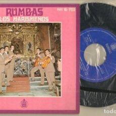 Discos de vinilo: SINGLE.VINILO. LOS MARISMEÑOS. RUMBAS. HISPAVOX. 16 - 703 (P/C61). Lote 221745481