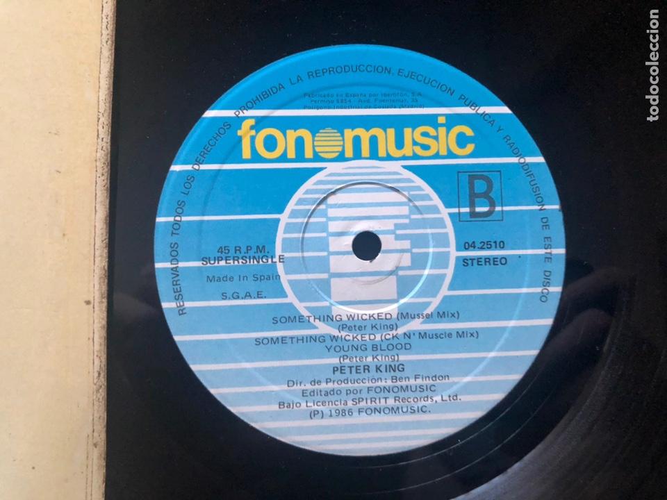 Discos de vinilo: Peter King ?– Something Wicked 1986 - Foto 2 - 221746691