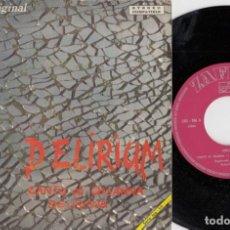 Discos de vinilo: DELIRIUM - CANTO DI OSSANNA - SINGLE DE VINILO EDICION ESPAÑOLA ROCK PROGRESIVO ITALIANO. Lote 221750852
