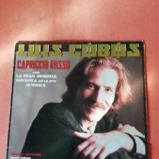Discos de vinilo: LUIS COBOS . CAPRICCIO RUSSO. CBS 1986. Lote 221752466