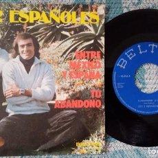 Discos de vinilo: SINGLE LOS 2 ESPAÑOLES - ENTRE MÉXICO Y ESPAÑA - ¡ÚNICO ENVÍO A FINAL DE MES!. Lote 221762036