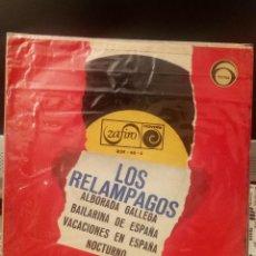 Discos de vinilo: LOS RELAMPAGOS - ALBORADA GALLEGA. Lote 221762891