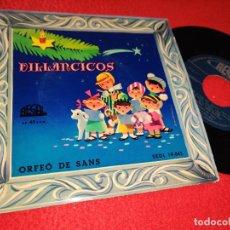 Discos de vinilo: ORFEO DE SANS VILLANCICOS.CAMPANA SOBRE CAMPANA +5 EP 195? REGAL PORTADA LLOAN. Lote 221762961