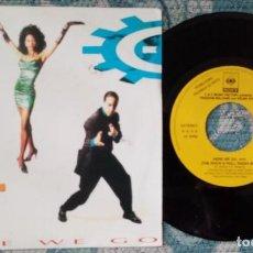 Discos de vinilo: SINGLE PROMOCIONAL - C&C MUSIC FACTORY -¡ÚNICO ENVÍO A FINAL DE MES!. Lote 221763578