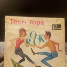 Discos de vinilo: TEEN TOPS - SIGUE LLAMANDO. Lote 221767485