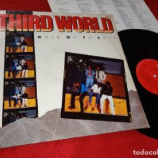 Discos de vinilo: THIRD WORLD HOLD ON TO LOVE LP 1987 CBS HOLLAND. Lote 221769528