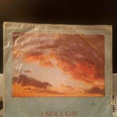 Discos de vinilo: OMD ORCHESTRAL MANOEUVRES IN THE DARK - ENOLA GAY. Lote 221771607