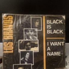 Discos de vinilo: LOS BRAVOS - BLACK IS BLACK. Lote 221771976