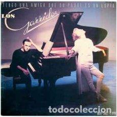 Discos de vinilo: LOS GARRIDO – TENGO UNA AMIGA QUE SU PADRE ES UN ESPIA -12 SINGLE - AÑO 1985. Lote 221772130