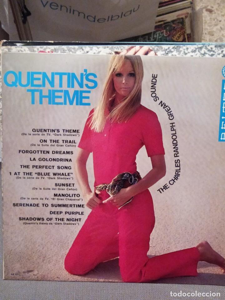 THE CHARLES RANDOLPH GREAN SOUNDE : QUENTIN'S THEME ( DARK SHADOWS) SERIES TV (Música - Discos - LP Vinilo - Orquestas)