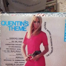 Discos de vinilo: THE CHARLES RANDOLPH GREAN SOUNDE : QUENTIN'S THEME ( DARK SHADOWS) SERIES TV. Lote 221774442
