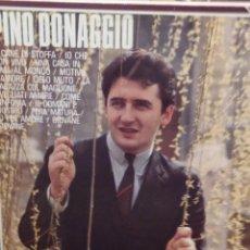 Discos de vinilo: PINO DONAGGIO ED ESPAÑA 1984 IL CANE DI STOFFA + 11. Lote 221775873