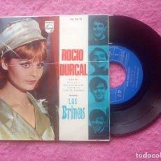 Discos de vinilo: EP ROCIO DURCAL - CREO EN TI / QUE VA A SER DE MI / CONTENTA +1 - 436 856 PE - EP (EX-/EX+). Lote 221775956