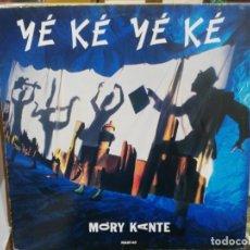 Discos de vinilo: MORY KANTE - YÉ KÉ YÉ KÉ - MAXI SINGLE DEL SELLO BARCLAY 1987. Lote 221777321