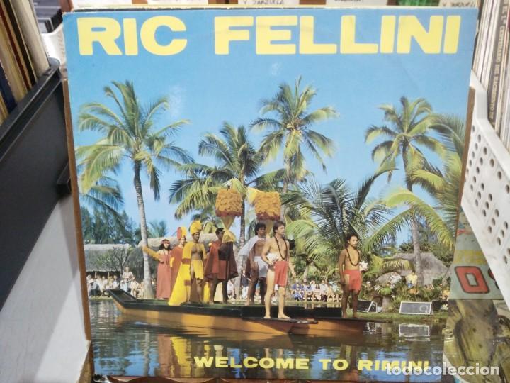 RIC FELLINI - WELCOME TO RIMINI - MAXI SINGLE DEL SELLO MAX MUSIC 1984 (Música - Discos de Vinilo - Maxi Singles - Canción Francesa e Italiana)
