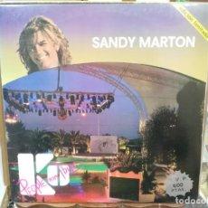 Discos de vinilo: SANDY MARTON - PEOPLE FROM IBIZA - MAXI SINGLE DEL SELLO BLANCO Y NEGRO. Lote 221777742
