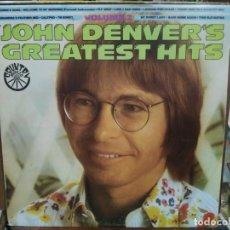 Discos de vinilo: JOHN DENVER´S GREATEST HITS, VOLUME 2 - LP. DEL SELLO RCA DE 1974. Lote 221777963