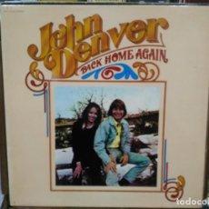 Discos de vinilo: JOHN DENVER - BACK HOME AGAIN - LP. DEL SELLO RCA DE 1974. Lote 221778162