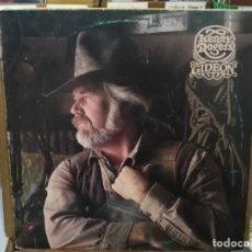 Discos de vinilo: KENNY ROGERS - GIDEON - LP. DEL SELLO UA RECORDS DE 1980. Lote 221778310