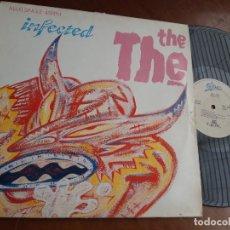 Discos de vinilo: THE THE – INFECTED-MAXI-ESPAÑA-1986- EPIC – EPC 650167 6-. Lote 221779253