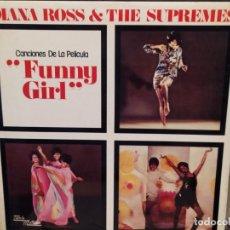 Disques de vinyle: DIANA ROSS & THE SUPREMES: CANCIONES DE LA PELÍCULA FUNNY GIRL, TAMLA MOTOWN ES ESPAÑA 1974). Lote 221780846