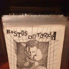 Discos de vinilo: RESTOS DE TRAGEDIA / SER Y NO SER / AUTEGESTIONADO POR EL GRUPO 1989. Lote 221781423