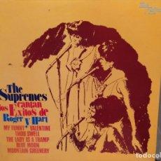 Disques de vinyle: THE SUPREMES CANTAN LOS EXITOS DE ROGER Y HARD ED ESPAÑA 1974 TAMLA MOTOWN. Lote 221782113