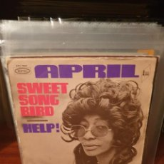 Discos de vinilo: APRIL / SWEET SONG BIRD / EDICIÓN FRANCESA / EPIC 1971. Lote 221782277