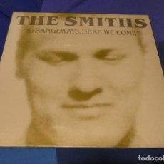 Discos de vinilo: EXPRO LP THE SMITHS STRANGWAYS HERE WE COME NUEVOS MEDIOS MUY BUEN ESTADO. Lote 221782398