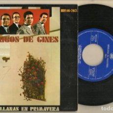 Discos de vinilo: DISCO VINILO. SINGLE. AMIGOS DE GINES. SEVILLANAS EN PRIMAVERA. VOL.1. HISPAVOX. HH16-763. (P/C61). Lote 221782873