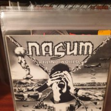 Discos de vinilo: NASUM / AGATHOCLES / BLIND WORLD / POSERSLAUGHTER RECORDS 1993. Lote 221782980