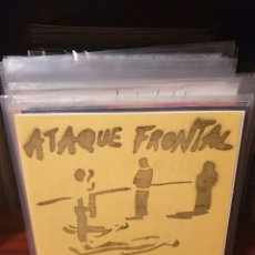 Discos de vinilo: ATAQUE FRONTAL / NO HABRA PAZ / EDICIÓN FRANCESA / NEW WAVE RDS. Lote 221783200