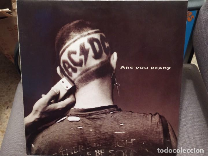 AC/DC: ARE YOU READY 45 RPM, ED FRANCIA 1990 MAXI (Música - Discos de Vinilo - Maxi Singles - Heavy - Metal)
