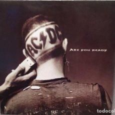 Discos de vinilo: AC/DC: ARE YOU READY 45 RPM, ED FRANCIA 1990 MAXI. Lote 221783740