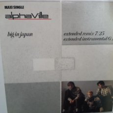 Discos de vinil: ALPHAVILLE- BIG IN JAPAN - SPAIN MAXI SINGLE 1984 - VINILO CASI NUEVO.. Lote 221785903