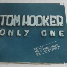 Discos de vinilo: DISCO VINILO LP , TOM HOOKER ONLY ONE. Lote 221785940