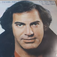 Discos de vinilo: NEIL DIAMOND ON THE WAY TO THE SKY. Lote 221786288