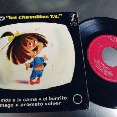 Discos de vinilo: LOS CHAVALITOS TV-EP VAMOS A LA CAMA +3. Lote 221786366