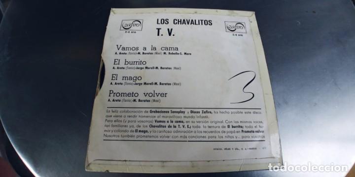 Discos de vinilo: LOS CHAVALITOS TV-EP VAMOS A LA CAMA +3 - Foto 2 - 221786366