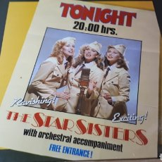 Discos de vinilo: THE STAR SISTERS TONIGHT 20:00 HRS.. Lote 221787336