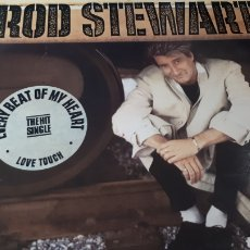 Discos de vinilo: ROD STEWART EVERY BEAT OF MY HEART. Lote 221787490