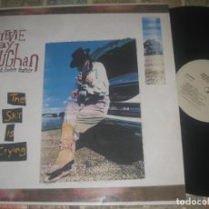 Discos de vinilo: STEVIE RAY VAUGHAN AND DOUBLE TROUBLE ?– THE SKY IS CRYING (EPIC 1991)OG ESPAÑA LEA DESCRIPCION. Lote 221789338