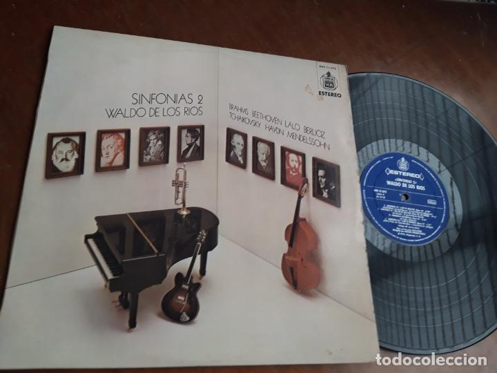 WALDO DE LOS RÍOS. SINFONÍAS 2. EDICIÓN ORIGINAL HISPAVOX, 1974.LP (Música - Discos - LP Vinilo - Orquestas)