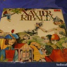 Discos de vinilo: EXPRO LP DE LOS DIFICILES DE LA CANÇO CATALANA XAVIER RIBALTA 1973 MUY BUEN ESTADO GFOLD. Lote 221789570