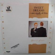 Discos de vinilo: EURYTHMICS- SWEET DREAMS- SPAIN MAXI SINGLE 1983- VINILO COMO NUEVO.. Lote 221789571