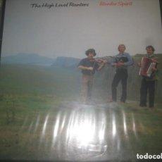Discos de vinilo: THE HIGH LEVEL RANTERS BORDER SPIRIT (TOPIC-1983) OG ENGLAND CELTA IRISH FOLK. Lote 221789618