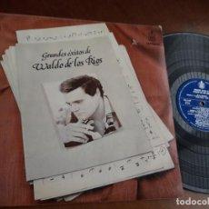 Discos de vinilo: WALDO DE LOS RIOS - GRANDES EXITOS... LP HISPAVOX 1977. Lote 221789710