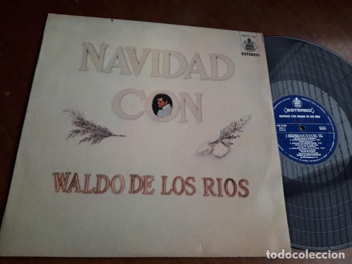 WALDO DE LOS RIOS - NAVIDAD CON WALDO DE LOS RIOS - HISPAVOX HHS 11-250 - 1973-LP- (Música - Discos - LP Vinilo - Orquestas)