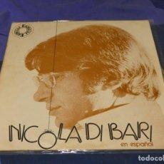 Discos de vinilo: EXPRO LP NICOLA DE BARI EN ESPAÑOL 1972 ESTADO DECENTE. Lote 221790282