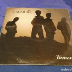 Discos de vinilo: EXPRO LP POP NACIONAL LA GUARDIA VAMONOS VINILO OK PORTADA CON PEQUEÑO INICIO DE FATIGA, POCA COSA. Lote 221790500